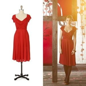 Deletta Anthropologie Warp and Weft Jersey Dress